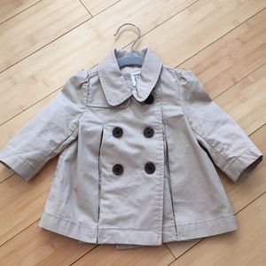 0-6 months trench coat